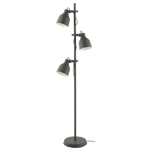 HEKTAR 3-Spot Floor Lamp