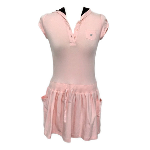 Pink Hoodie Dress Shirt (9-10y)