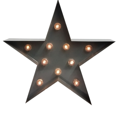 S&J Star-Shaped Table Lamp