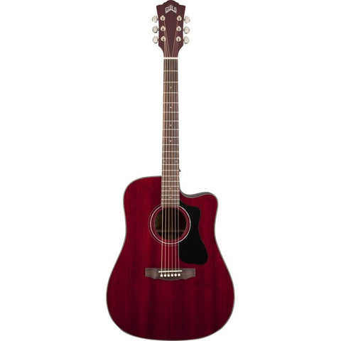 GUILD Cherry Acoustic Guitar