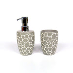 DARWIN Pebble Bathroom Set