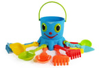 Melissa & Doug Blue Octopus Sand Tools Beach Set