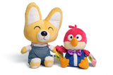 Pororo : The Little Penguin Eddy Plush Doll & Harry Plush Doll