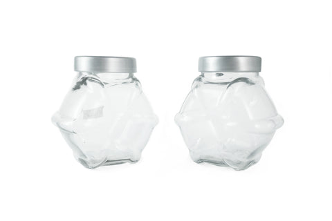 2 Unit of IKEA FORVAR Jar with lid