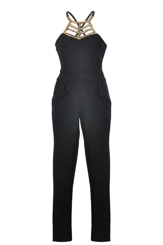 Robinsons Quiz Black Women's Jumpsuit