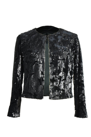 Women Bling Glitter Jacket
