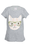Light Grey Kitten Penelope Tee