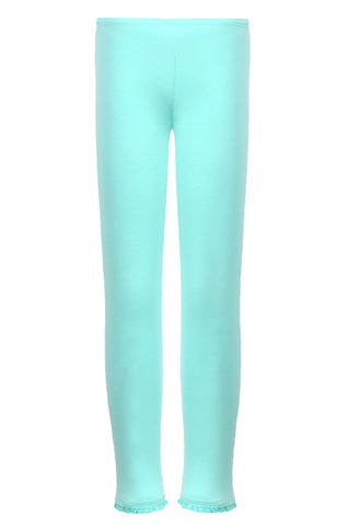 Labuci Mint Green Girls Leggings