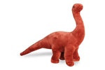Adorable Brown Giraffatitan Dinosaurs