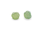 FOREVER 21 Rosette Stud Earrings in Mint