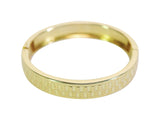 KAZE Round Hinge Bangle