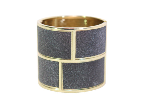 Grey and Gold Bangle