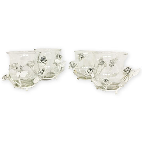 SMALL VASE Candle Holder 4pcs