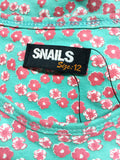 Snails Teal Sleeveless Jersey (12y)