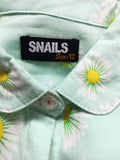 Snails Woven Sleeveless Dress (12y)