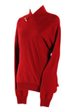 Salt & Pepper Red Knitted Sweater