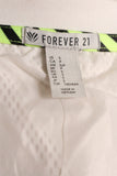 Forever 21 White Casual Jacket