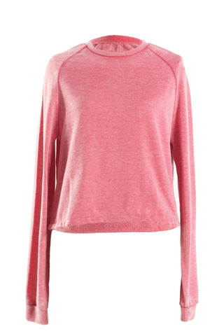 21MEN Women Long Sleeve Pink Top