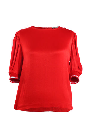 TRF Collection Zara Women's Red Top