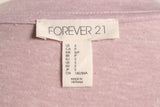 Forever 21 Light Purple T-Shirt