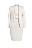 Zara Woman White Suit