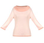 Light Pink Women's Long Sleeve Top