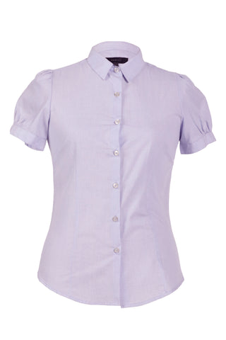 Padini Baby Blue Women's Formal Shirt