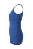 Max Essentials Blue Sleeveless Women's Top