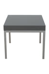 IKEA Klubbo Black and Chrome Nesting Tables