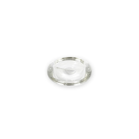 Candle Holder Round Clear Glass- 5pcs