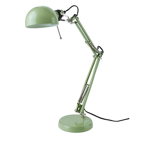 IKEA Forsa Work Lamp (Green)