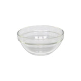 3pcs Glass Side Dish Bowl with Different Design