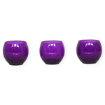 Small Purple Vase - 3pcs