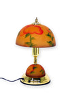 Frosted Glass Floral Shade Table Lamp
