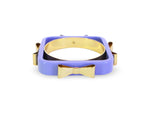 TED BAKER 4 Bow Acrylic Bangle
