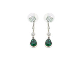 KAZE Faux Gem Drop Earrings