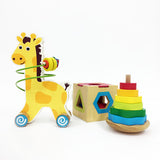 Wooden Toy Trio