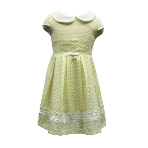 KIDIVINI  Yellow Girl Dress (S)