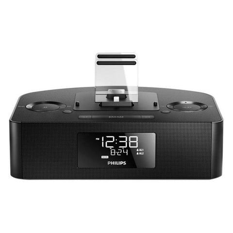 Philips Dual Dock Triple Charging Clock Radio