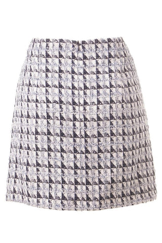 Esprit Geometric Stitched Pencil Skirt