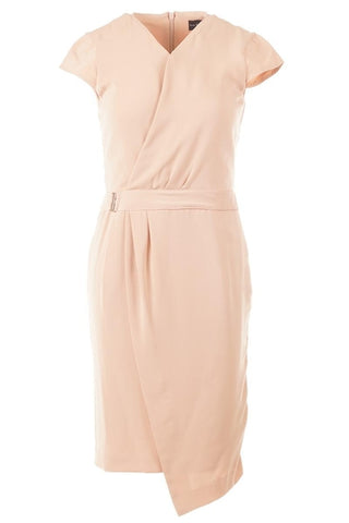 The Executive Nude Sheath Dress