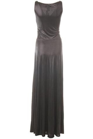 ECLIPSE Sleeveless Long Dress