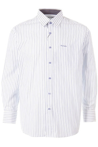 Pierre Cardin Paris Long Sleeve Stripe Shirt