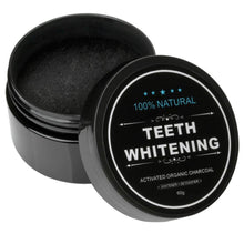 Charcoal Bamboo Teeth Whitening Powder
