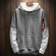 Men's sweatshirt two-tone
