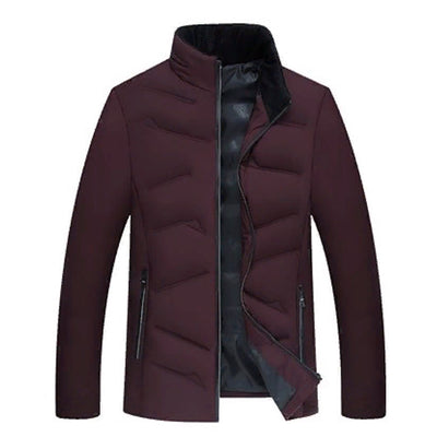 Classic quilted winter jacket