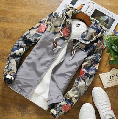 Stylish, fashionable jacket windbreaker