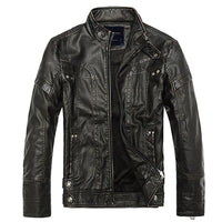 High quality leather jacket