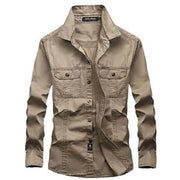 Military Style Casual Shirt