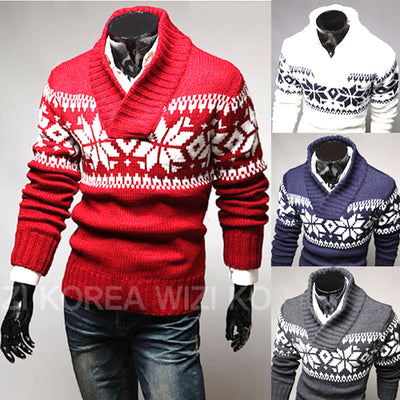 Christmas men's sweater